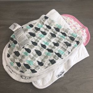 Burp Cloths and Bibs (assorted)